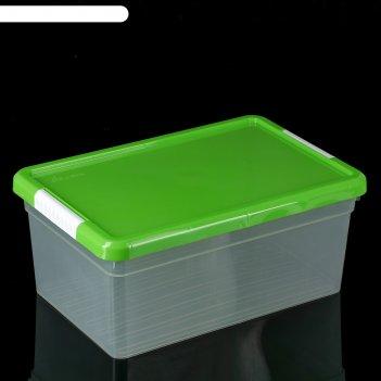 Контейнер для хранения 10 л standart, цвет микс