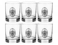 Набор стаканов для виски из 6 шт.россия 250 мл.в...
