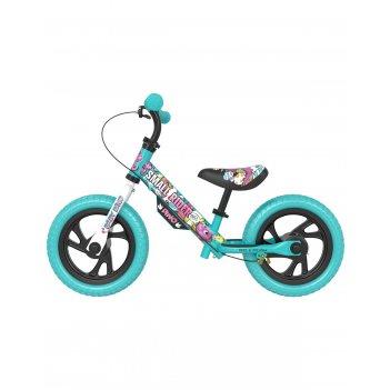Детский беговел small rider motors (cartoons eva, аква)