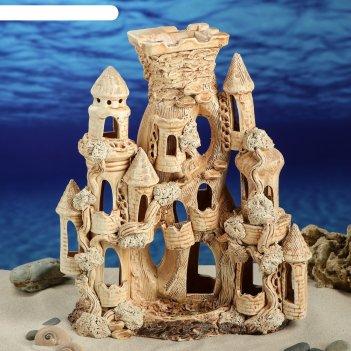 Аквадекор-грот для аквариума м97 замок капуэро большой