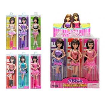 Куклы abbie 29 см танцовщица, шарнирная, в ассорт., дисплей