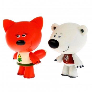 Игрушка для ванной «мимимишки. лисичка и тучка»