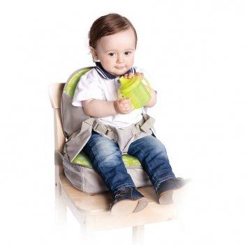 Стульчик-сумка для кормления и путешествий высокий с сидушкой и пеленально