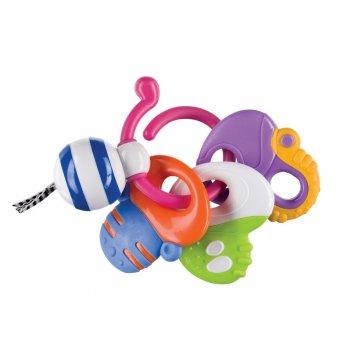 Keys of fun погремушка-прорезыватель возраст: от 3 месяцев