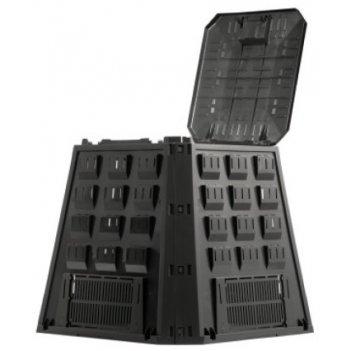 Компостер evogreen 420 л чёрный (простая упаковка)