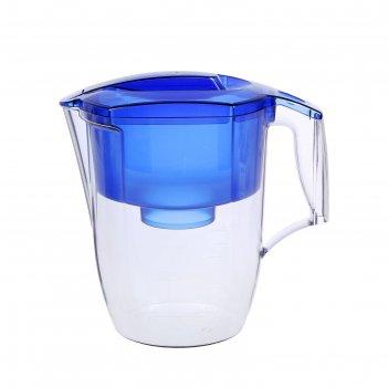 Фильтр-кувшин 3,9 л аквафор-гарри, цвет синий