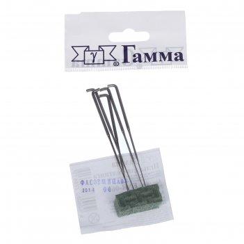 Иглы для валяния (фелтинга) gamma № 60 (набор 5 шт)