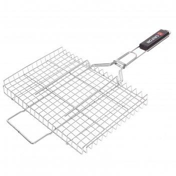 Решетка grifon premium гриль 36 x 24 x 3 см, нержавеющая сталь 2 мм, 650-0