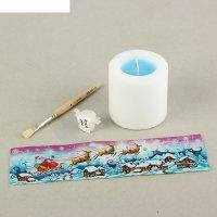 Набор для творчества свеча, техника декупаж №1