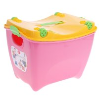 Ящик детский супер-пупер розовый м 2599