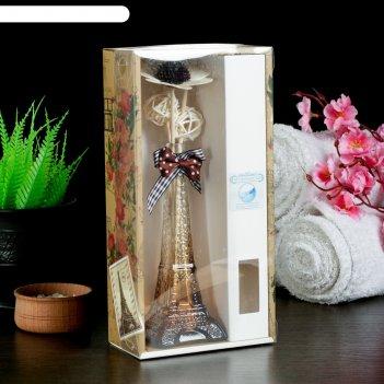 Набор подарочный эйфелева башня (ваза, 2 палочки с шариками, декор, аромам