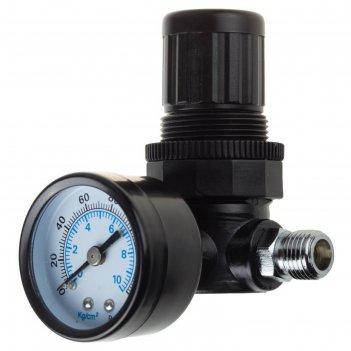 Манометр kraftool 06503, с регулятором подачи воздуха, 1/4, max давление 1
