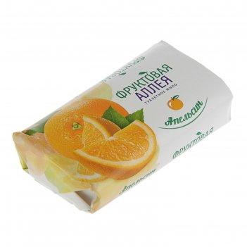 Мыло туалетное фруктовая аллея апельсин, 90 г   2377572
