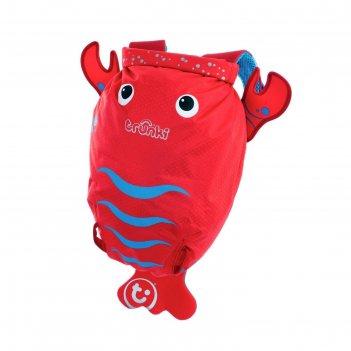Рюкзак для бассейна и пляжа лобстер цвет красный