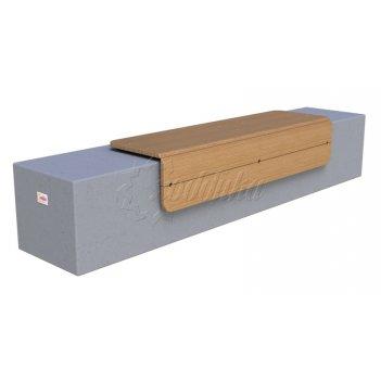 Скамья бетонная «сколково-1» комплект