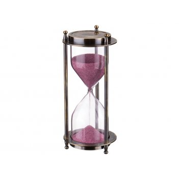 Часы песочные диаметр=7 см. высота=15 см.