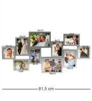 Chk-127 фоторамка настенная семейная история на 10 фото