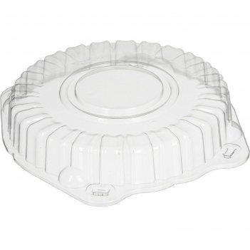 Крышка к контейнеру т-207/1кн (м) (т), круглая, цвет прозрачный, размер 21