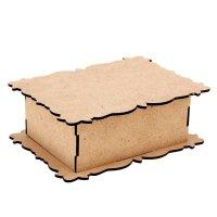 Шкатулка для декора узорная коробка (набор 7 деталей)