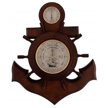 Бытовая метеостанция бм-6 массив дуба (смич) барометр