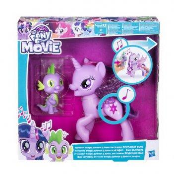 My little pony movie. мерцание пони дружеский дуэт (поющая твайлайт спаркл