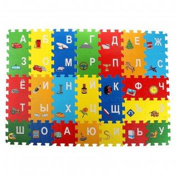 Коврик-пазл тачки, 36 элементов