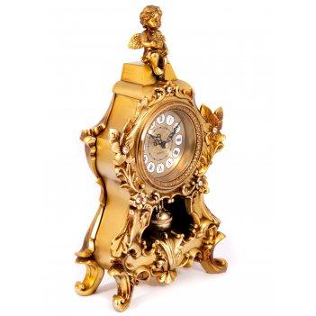 Часы каминные ангел 20*11*37см