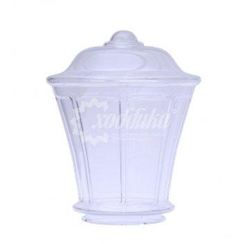 Светильник венчающий «монреаль» прозрачный