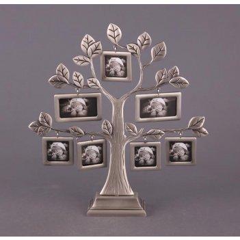 Фоторамка-дерево на 7 фото 6*4 см.высота=28 см  (к...