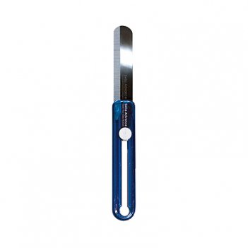 Нож складной в блистере (синий)