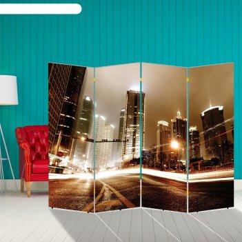 Ширма высотки, 200 x 160 см