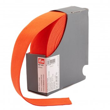 Эластичная лента-пояс 38мм*10м, цвет оранжевый