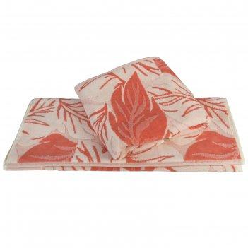 Полотенце autumn, размер 100 x 150 см, персиковый
