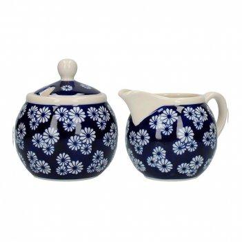 Kitchen craft сахарница и молочник london pottery