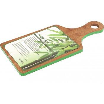 Доска разделочная agness 35*16*1,0 см бамбук (кор=12шт.)