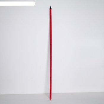Черенок деревянный 120 см, цвет микс