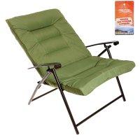 Кресло 92х69х130 см, цвет зеленый