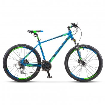 Велосипед 26 stels navigator-650 d 26 v010, цвет синий, размер 18