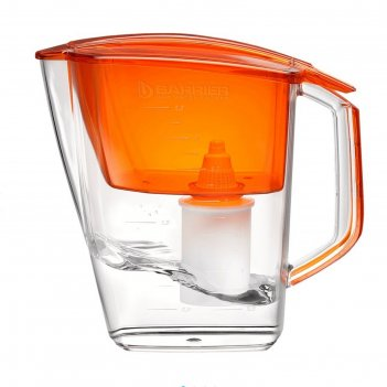 Фильтр для воды барьер гранд. оранж 3,6 л