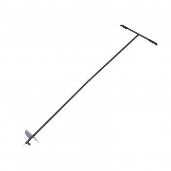 Бур шнековый, d=20 см, ручка 2 метра