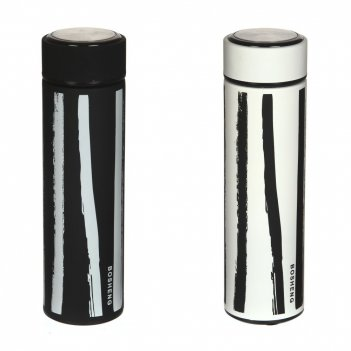 Термос с фильтром, 400 мл, l6,5 w6,5 h22,5 см, (сохр.t до 8 часов), 2в.