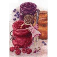 Набор для вышивания фея ягодного варенья