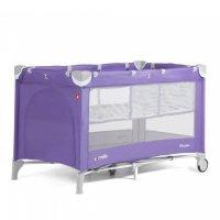 Манеж детский carrello crl-9201/1 piccolo + spring purple