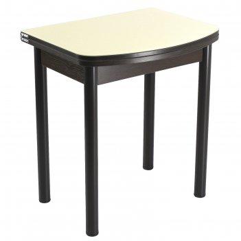 Стол поворотно-раскладной спг-01 ст1 венге/песок/крашеные прямые