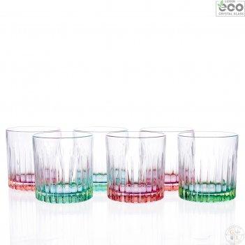 Набор стаканов для виски rcr pedro&rosa 360мл (6 шт)