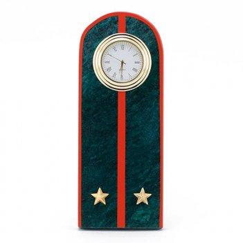 Часы погон лейтенант мвд нового образца змеевик