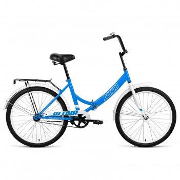 Велосипед 24 altair city, 2020, цвет голубой/белый, размер 16