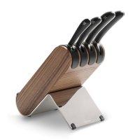 Набор из 4 кухонных ножей в подставке, серия signature knife, robert welch