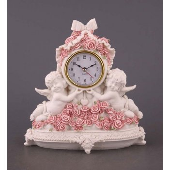 Часы настольные коллекция amore высота=23 см.(ко...