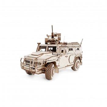 Деревянный конструктор, бронеавтомобиль «лигер»